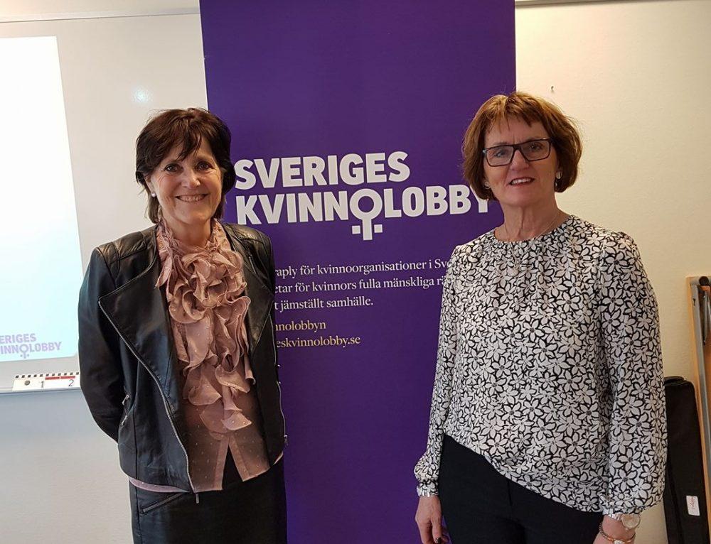 Louise Elemalm, invald i Sveriges Kvinnolobby